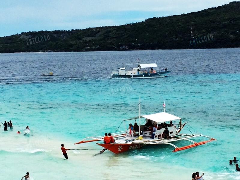 フィリピン:スミロン島の海