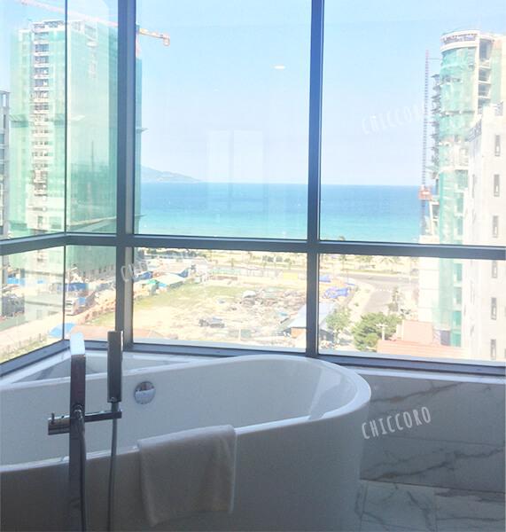 アバターダナンホテル(Avatar Danang Hotel)の部屋からの眺望