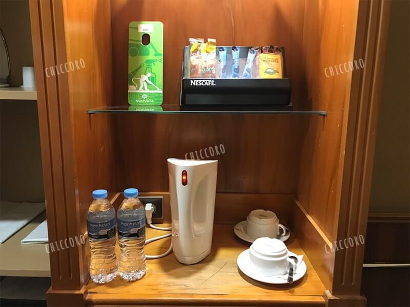 ヌバタホテル(Nouvata Hotel)の電気ポット