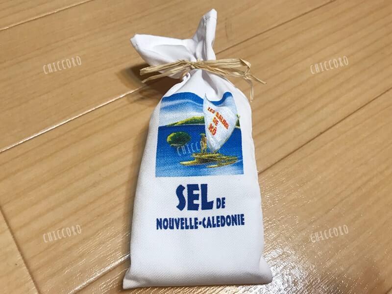 ニューカレドニアでつくられた粗塩