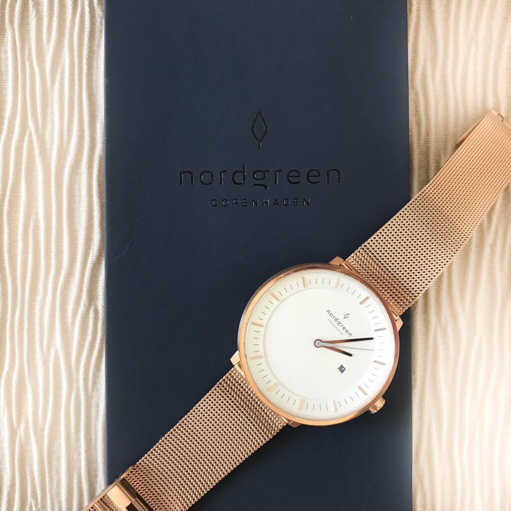 Nordgreen(ノードグリーン)の腕時計Philosopherローズゴールド