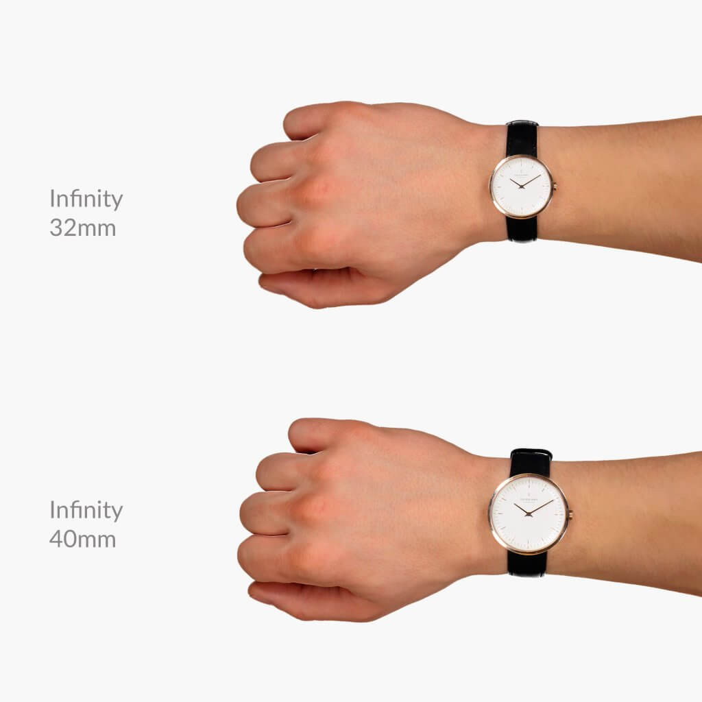 Infinityインフィニティのサイズ目安32mm、40mm