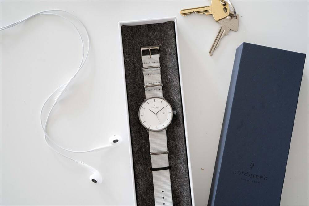 Nordgreen(ノードグリーン)の腕時計のギフト用ボックス1本用