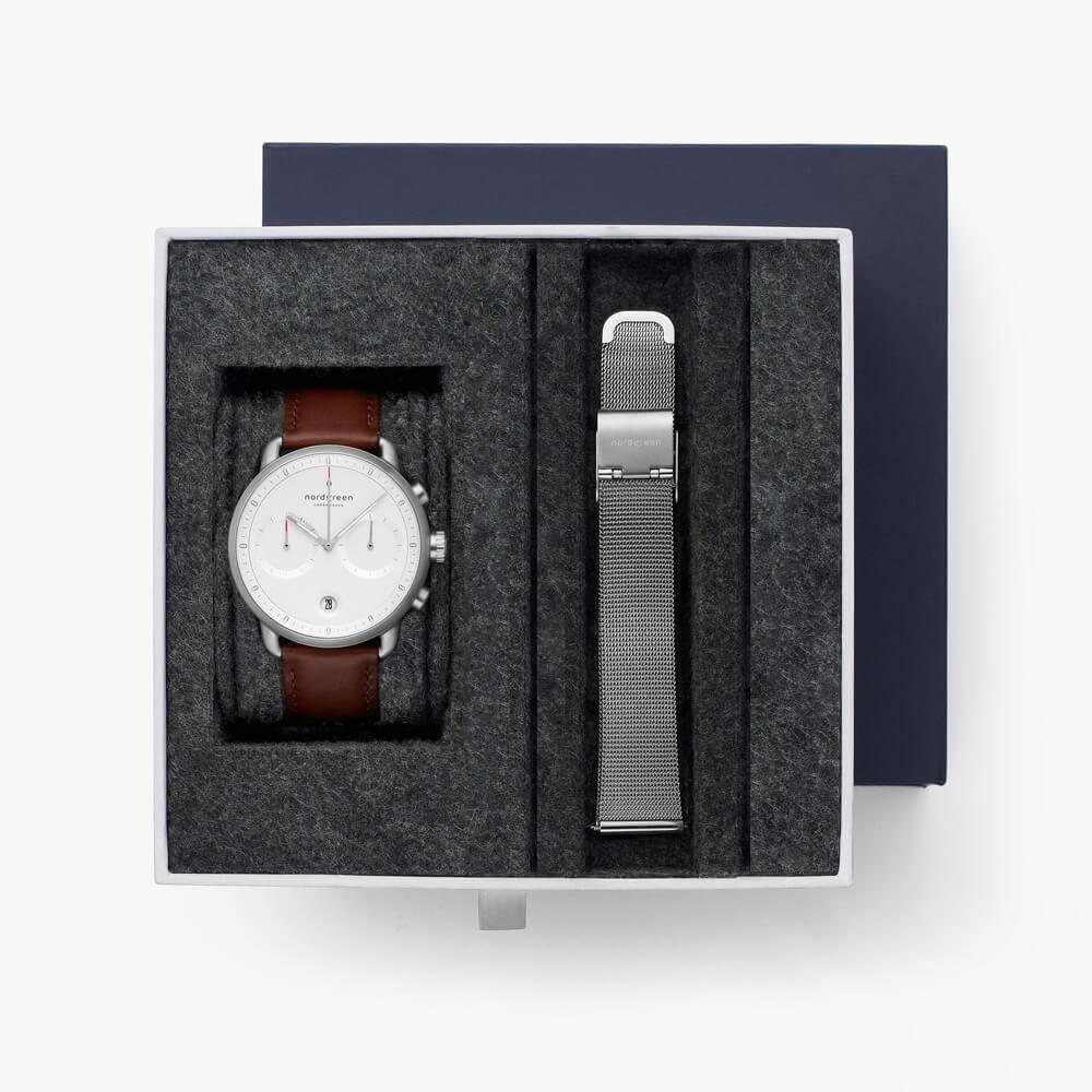 Nordgreen(ノードグリーン)の腕時計のギフト用ボックス:ストラップ2本用